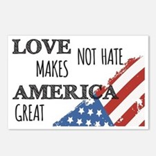 Love Not Hate Makes Ameri Postcards (Package of 8)