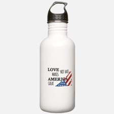 Love Not Hate Makes Am Water Bottle
