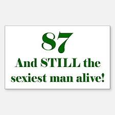 87 Still Sexiest 2 Green Decal