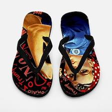 Cute Anti hamas Flip Flops
