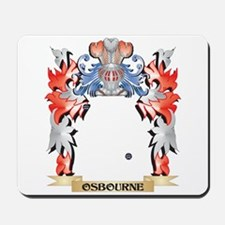 Osbourne- Coat of Arms - Family Crest Mousepad