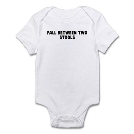 Fall between two stools Infant Bodysuit
