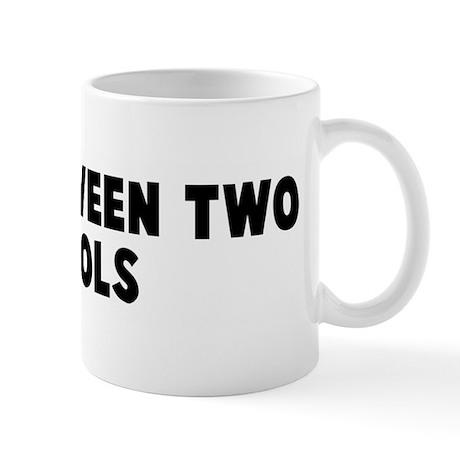 Fall between two stools Mug