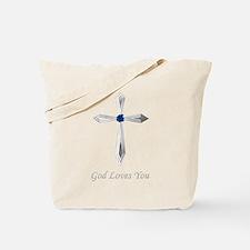God Loves You - Tote Bag