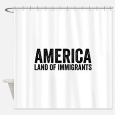 Anti immigration Shower Curtain