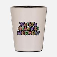 Worlds Greatest Morrow Shot Glass