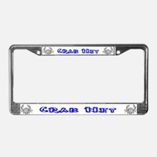 Crab Licence Plate Frames Crab License Plate Covers