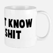 Does not know jack shit Mug