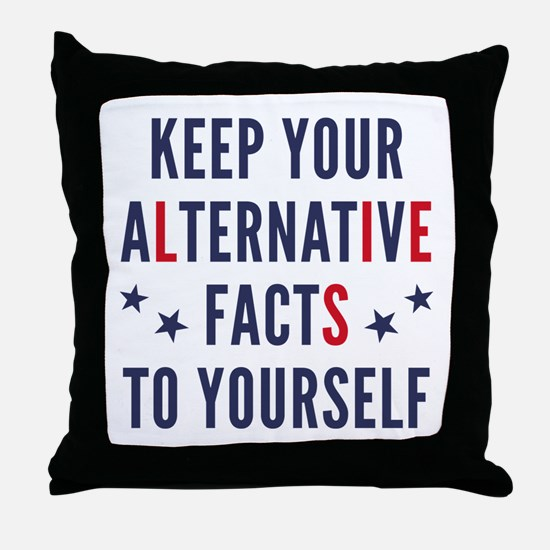 Alternative Facts Throw Pillow