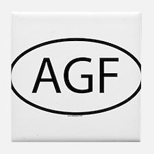 AGF Tile Coaster