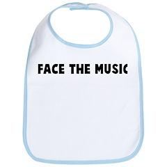 Face the music Bib