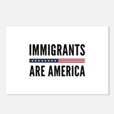 Immigrants Are America Postcards (Package of 8)