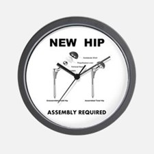 New Hip - Assembly Required Wall Clock