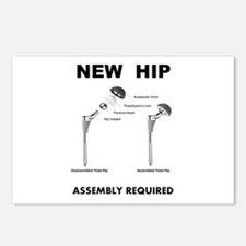 New Hip - Assembly Requir Postcards (Package of 8)
