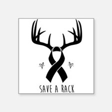 Save a Rack (Men's Design) Sticker