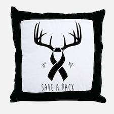 Save a Rack (Men's Design) Throw Pillow