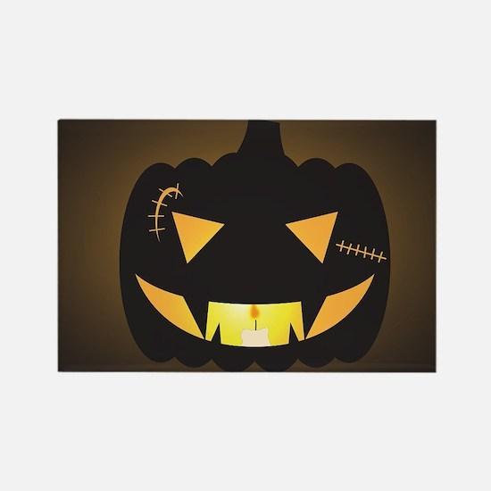 Halloween Scar O Lantern Magnets