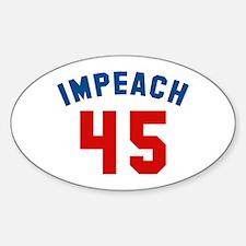 Impeach 45 Decal