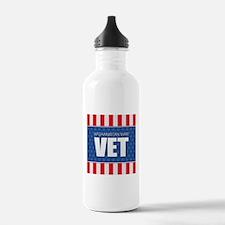 Afghanistan War Vet Sports Water Bottle