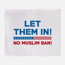 Let Them In Stadium Blanket