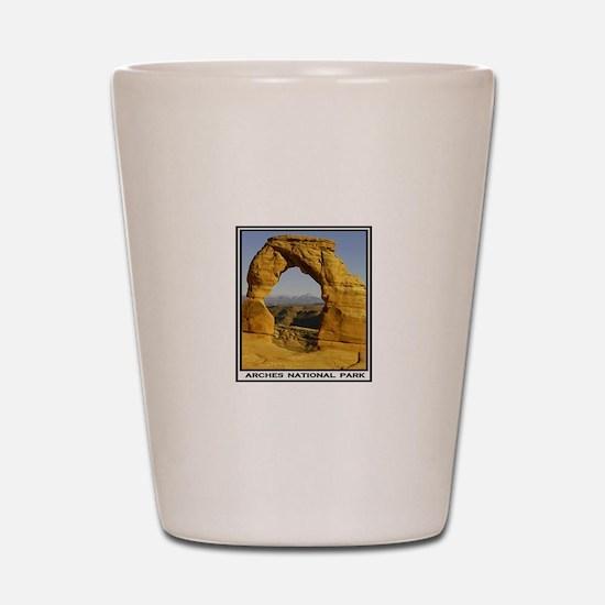 ARCHES Shot Glass