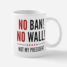 No Ban! No Wall! Mug