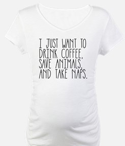 I Just Want to Drink Coffee, Sav Shirt