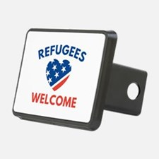 Refugees Welcome Hitch Cover