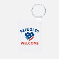 Refugees Welcome Keychains