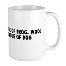 Eye of newt and toe of frog w Mug