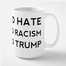 No Hate No Racism No Trump Mugs