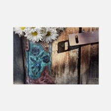 rustic western country cowboy boots Magnets