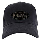 101 birthday Baseball Cap with Patch
