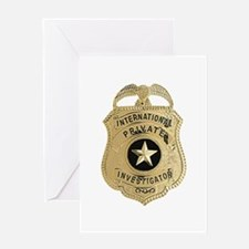 International Private Investigator Greeting Cards