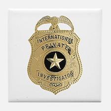 International Private Investigator Tile Coaster