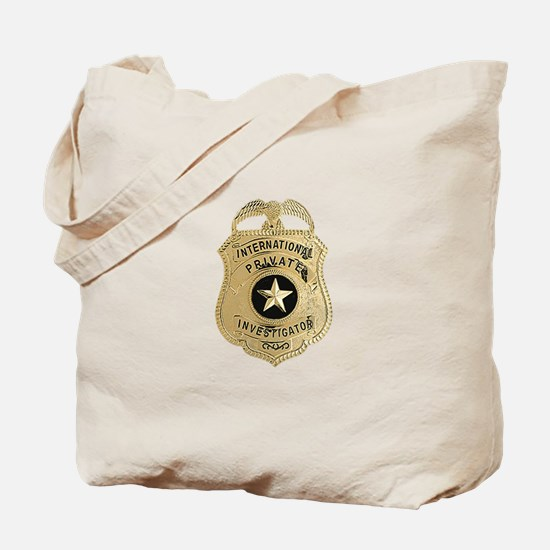 International Private Investigator Tote Bag