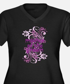 Mother of the Groom Swirl Plus Size T-Shirt