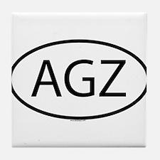 AGZ Tile Coaster
