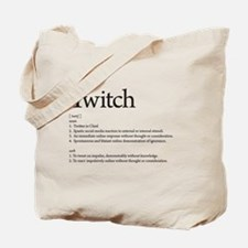 Funny Twitch Tote Bag