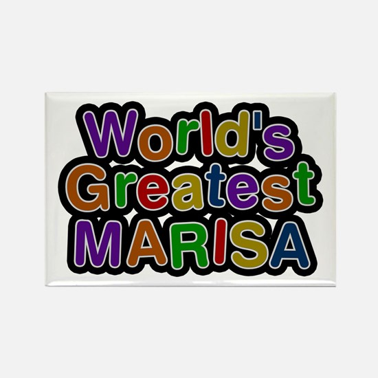 World's Greatest Marisa Rectangle Magnet