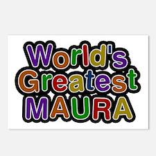 World's Greatest Maura Postcards 8 Pack