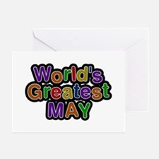 World's Greatest May Greeting Card