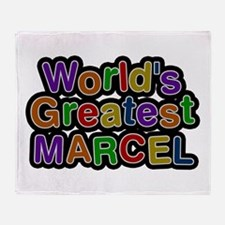 World's Greatest Marcel Throw Blanket