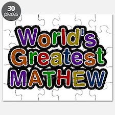 World's Greatest Mathew Puzzle