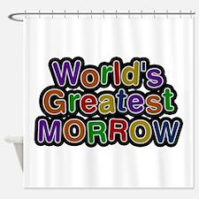 World's Greatest Morrow Shower Curtain