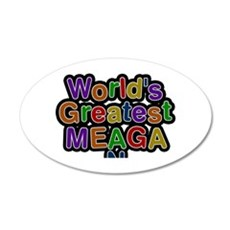World's Greatest Meagan Wall Decal