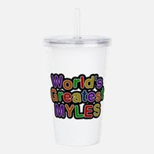 World's Greatest Myles Acrylic Double-wall Tumbler
