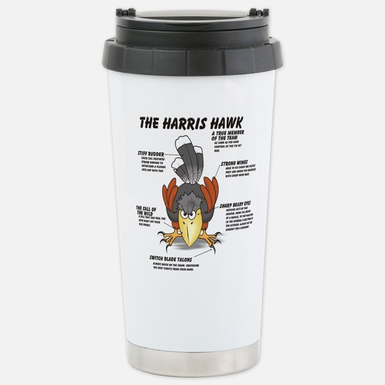 Cute Bird art Travel Mug