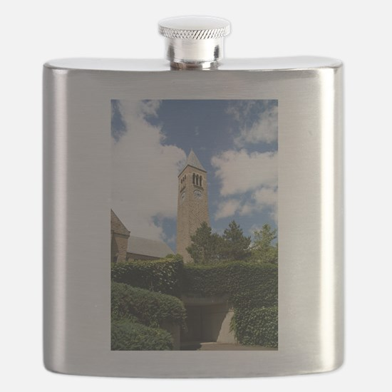 Cornell Clock Tower Flask