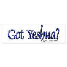 Got Yeshua Bumper Bumper Stickers
